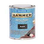 Hammer-metallivarv-vasaralakk-must-750-ml