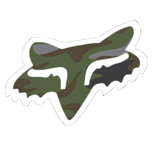 "40-00614 | Fox kleebis Fox Head - 1.75"" camo"