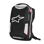 Alpinestars-City-Hunter-seljakott-mustvalgepunane