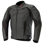 Alpinestars-GP-Plus-R-V2-nahkjope-must