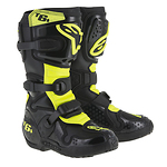 Alpinestars-Tech-6-S-Junior-krossisaapad-mustohutuskollane