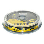 Maxell-CD-R-52x-700-MB80-min-Spindle-10-pk