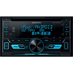 Kenwood-DPX-3000U-2DIN-autosoitin-CD-FM-radio-USB-AUX-in-linjalahto