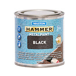 Hammer-metallivarv-vasaralakk-must-250-ml