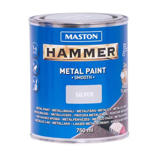 9d4e9064fc7 Hammer metallivärv sile hõbe 750 ml | Motonet OÜ