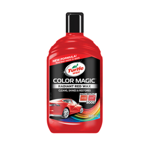 60-2463 | Turtle Wax Color Magic™ punane värvipigmendiga autovaha 500ml