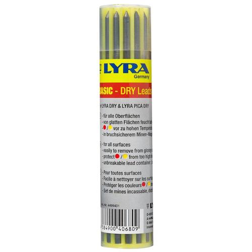 57153108d43 LYRA Dry ehitaja pliiatsi tagavarasüdamik 12 tk   Motonet OÜ