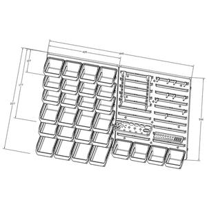 3d1787003b2 ... 80-2584 | Tööriista- ja tarvikustend seinale 44 osa