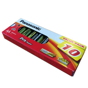 95-00451 | Panasonic Pro Power 10 x AA / R6 patarei