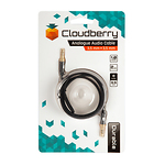 Cloudberry-35-mm-audiokaabel-1-m-must