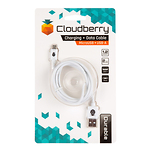 Cloudberry-Micro-USB-kaabel-12-m-valge