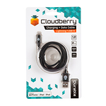 Cloudberry-Lightning-USB-kaabel-12-m-must