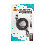 Cloudberry-USB-Type-C-30-kaabel-2-m-must