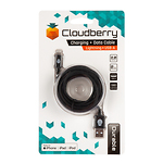 Cloudberry-Lightning-USB-kaabel-2-m-must