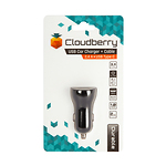 Cloudberry-34-A-USB-Type-C-autolaadija-1-x-USB-24-A