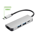 Celly-Type-C-HUB-adapter-2-x-USB-30--HDMI